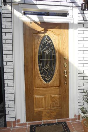 アメリカ製シンプソン社の玄関ドア