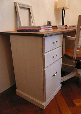 木製 パソコンデスク
