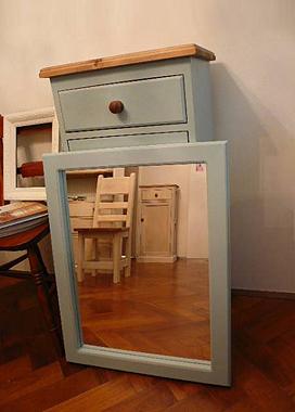 シャビーシック ミラー|インテリア家具