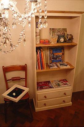 シャビーシック 本棚|インテリア家具
