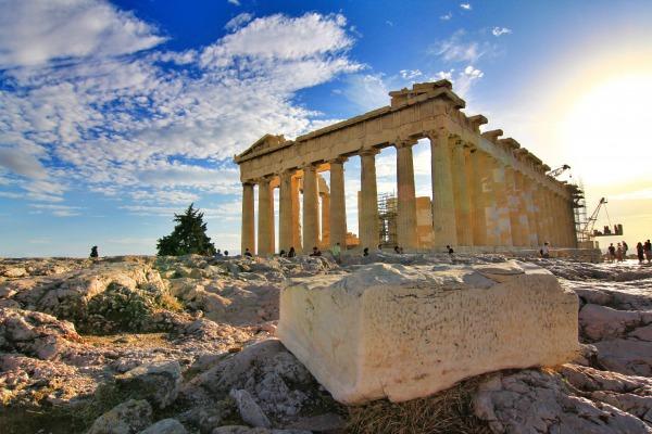 大理石 パルテノン神殿