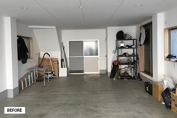 【お客様の声6】自宅ガレージを夢だったハウススタジオ&フラワーアレンジ教室に/大阪府大阪市 Y様邸